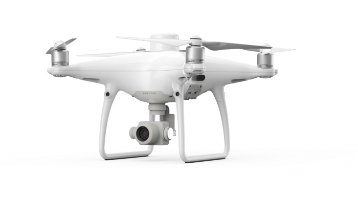 DJI Phantom 4 RTK side view